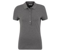 Poloshirt, Piqué, meliert