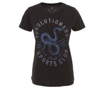 T-Shirt, Baumwoll-Mix, Front-Print
