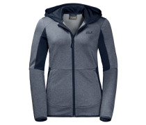 "Fleecejacke ""SUTHERLAND HOODED"", Kapuze"