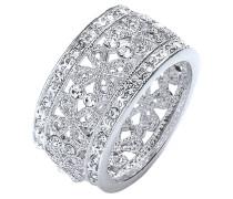 Ring W.52/S rhodiniert