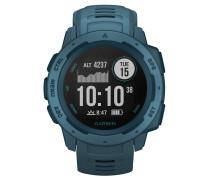 """Smartwatch """"Instinct"""" blau / schiefer 40-40-1730"""
