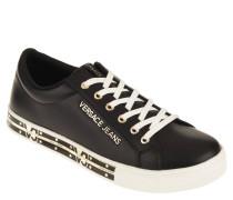 Sneaker, Leder, Statement-Sohle, Marken-Emblem