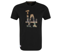 Los Angeles Dodgers T-Shirt, Front-Print