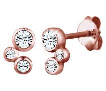 Ohrringe Basic Swarovski® Kristalle Filigran 925 Silber