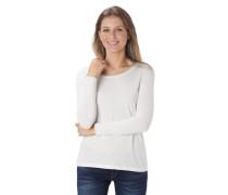 Langarmshirt, schimmernde Blenden, Rundhalsausschnitt