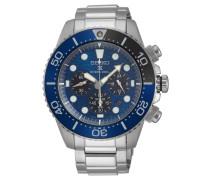 "Herrenuhr ""Prospex Solar Chronograph Diver's Save the Ocean Special Edition 2019"" SSC741P1"