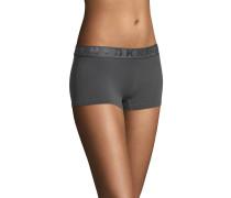 Panty, Feinripp, elastischer Logo-Bund, blickdicht
