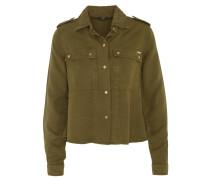 Hemdbluse, Military-Look, Brusttaschen, Schulterriegel