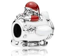 "Charm Silber ""Santa in Space"" mit Zirkonia 797511ENMX"