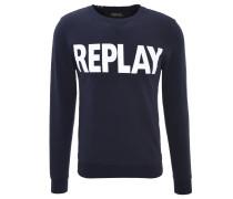 Sweatshirt, Logo-Print, Baumwolle