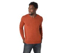 Pullover, Merino-Wolle, V-Ausschnitt