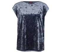 T-Shirt, changierende Optik, gerader Schnitt