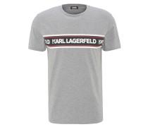 T-Shirt, Marken-Schriftzug, Rundhalsausschnitt