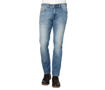 """Jeans """"Madison"""", Regular Fit, schmales Bein, Used Look"""