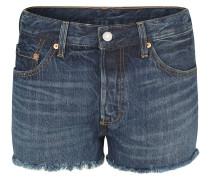 "Jeans-Shorts ""501"", Fransendekor, Kontrastnähte"