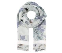 Schal, gewebt, fransiger Saum, Allover-Print