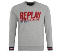 Sweatshirt, Front-Print, Bündchen-Details, weiche Innenseite
