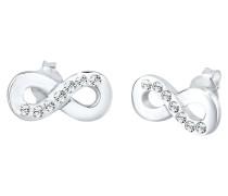 Ohrringe Infinity Symbol Swarovski® Kristalle