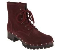 """Boots """"Ursel Bailey"""", Rauleder, Holz-Fußbett"""