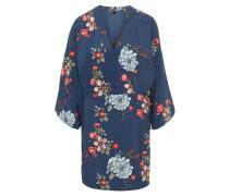 Kleid, Kimono-Stil, floraler Print