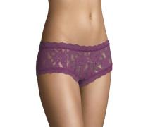 Panty, transparent, Spitzen-Design, Bordüren-Saum