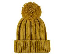 Mütze, Grobstrick, Bommel