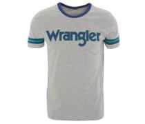 T-Shirt, Rundhalsausschnitt, Marken-Schriftzug
