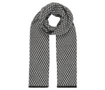 Schal, Schurwolle, 3D-Muster