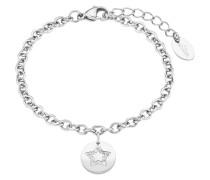Damen-Armband mit Münze und Sternen-Motiv