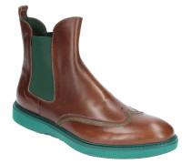 """Chelsea Boots """"JACOB 3"""", gebürstetes Leder, Ziernähte"""