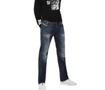 """Jeans """"Larkee"""", Straight, normaler Bund"""