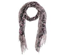 Schal, Wolle-Leinen-Mix, Animal-Print