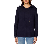 Pullover, Wolle, Strick, Kapuze