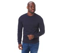 Sweatshirt, Rundhalsausschnitt, Ripp-Bündchen