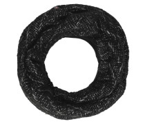 Loop-Schal, Strick, Glitzer, Woll-Anteil