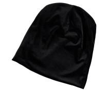 Mütze, Samt, glänzend