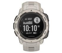 "Smartwatch Armbanduhr ""Instinct Tundra Light Gray"" 010-02064-01"