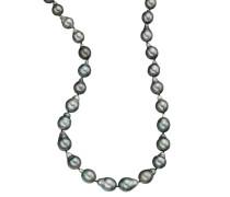 Collier Tahiti-Zuchtperlen Sterling Silber 925 9,0-13