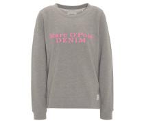 Sweatshirt, Baumwolle, Logo-Print, Rundhalsauschnitt