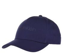 Cap, reine Baumwolle, Marken-Schriftzug
