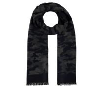Schal, Fransen, Camouflage