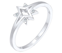 Ring Sterne Starburst Swarovski® Kristalle 925