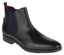 Chelsea Boots, Leder, Ziernähte, Wechselfußbett