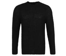 """Pullover """"Hardcore"""", Grobstrick, überschnittene Schulter"""