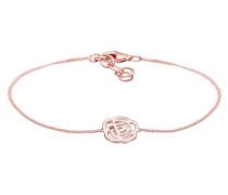 Armband Blume 925 Sterling Silber
