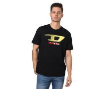 T-Shirt, Logo-Print, Rundhalsausschnitt