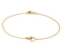 Armband Herz Heart Verschlungen Symbol 925 Silber