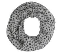 Loop-Schal, gepunktet, Seiden-Anteil