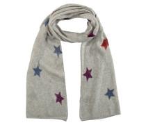 Schal, Cashmere-Anteil, Sternen-Muster