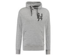 Sweatshirt, Regular-Fit, Kapuze, Brustprint